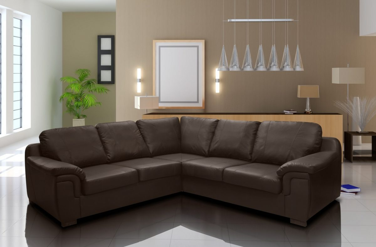 Picture of: Amy Faux Leather Corner Sofa Pf Furniture