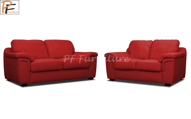 Amy 3+2 Sofa Set Faux Leather-916