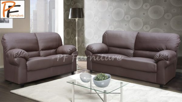 Candy 3+2 Sofa Set Faux Leather-925