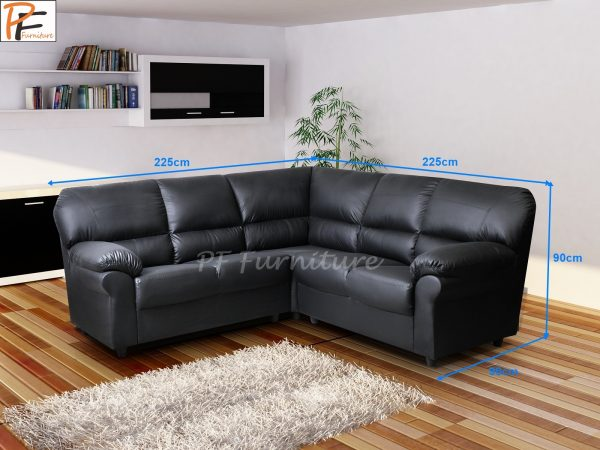 Candy Corner Sofa Faux Leather -971