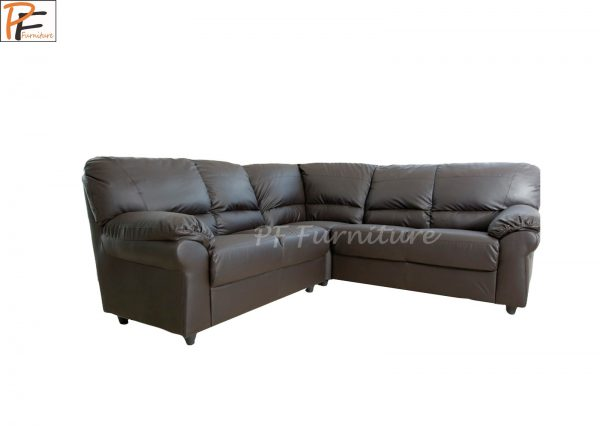 Candy Corner Sofa Faux Leather -973