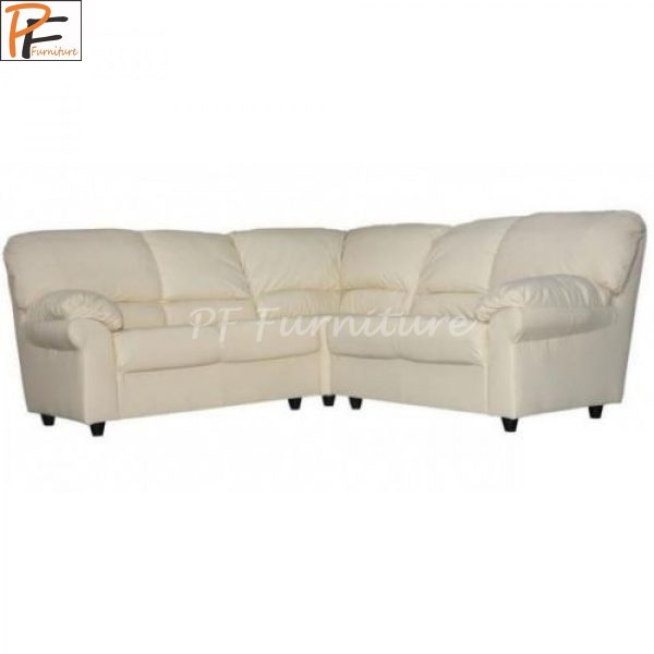 Candy Corner Sofa Faux Leather -972