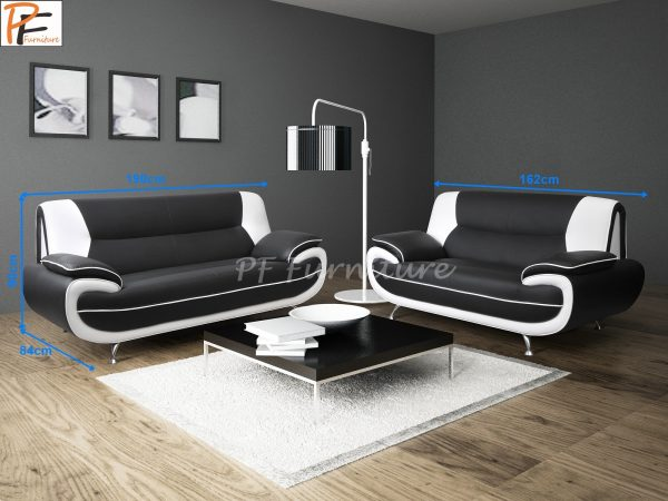 Olaf 3+2 Sofa Set Faux Leather-934