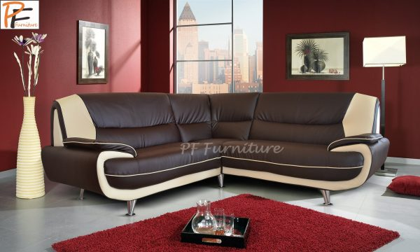 Olaf corner sofa faux leather-985