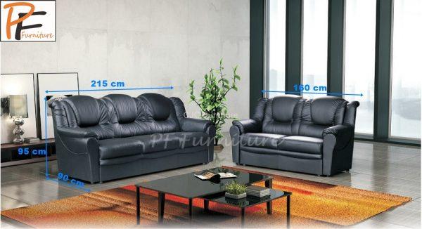 Texas 3+2 Sofa set faux leather-952