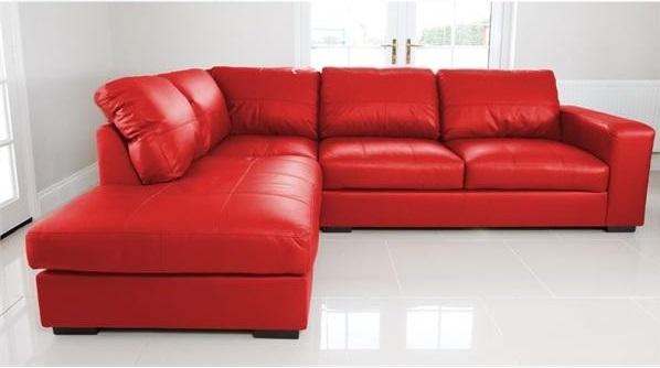 Westpoint Corner sofa faux leather-1026