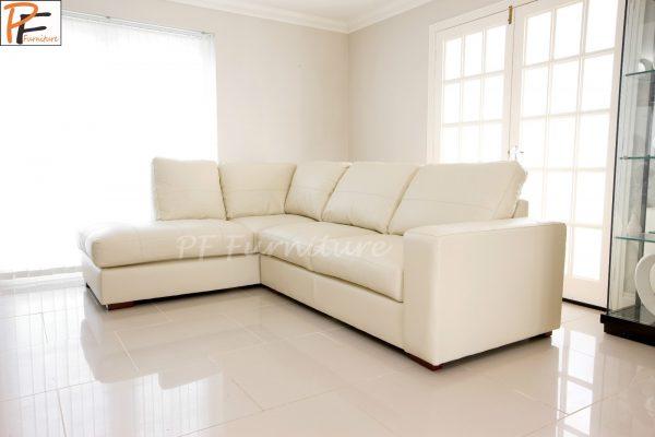 Westpoint Corner sofa faux leather-0