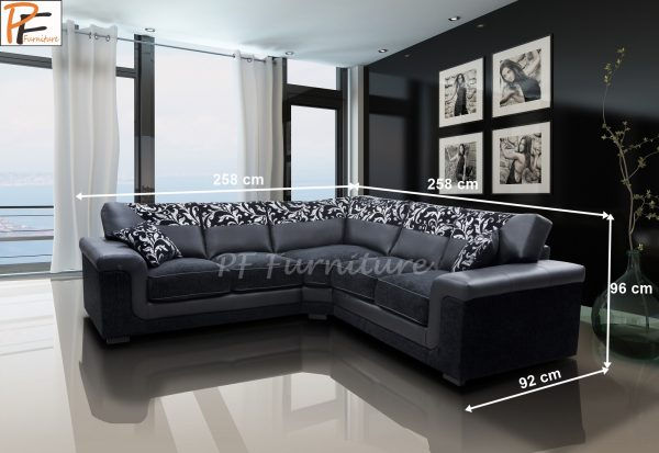 Symphony corner sofa fabric-1085