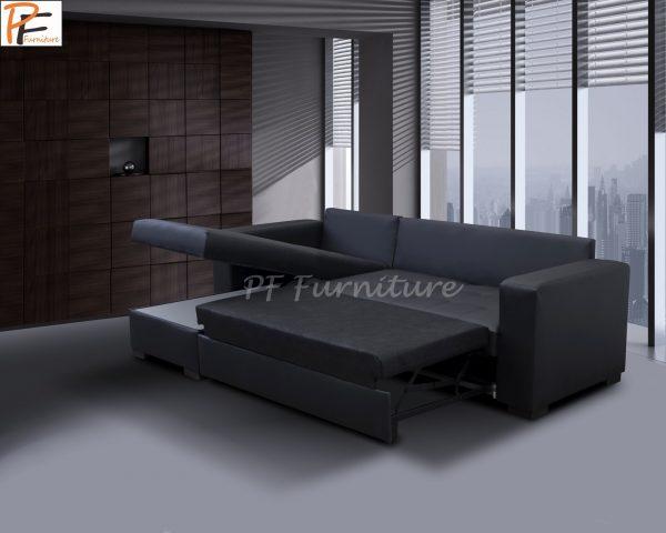 Giani II Sofa Bed Faux Leather-1071