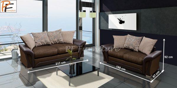 Shannon 3+2 sofa set Fabric-897