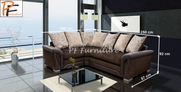 SHANNON CORNER SOFA (2C1) fabric-1179