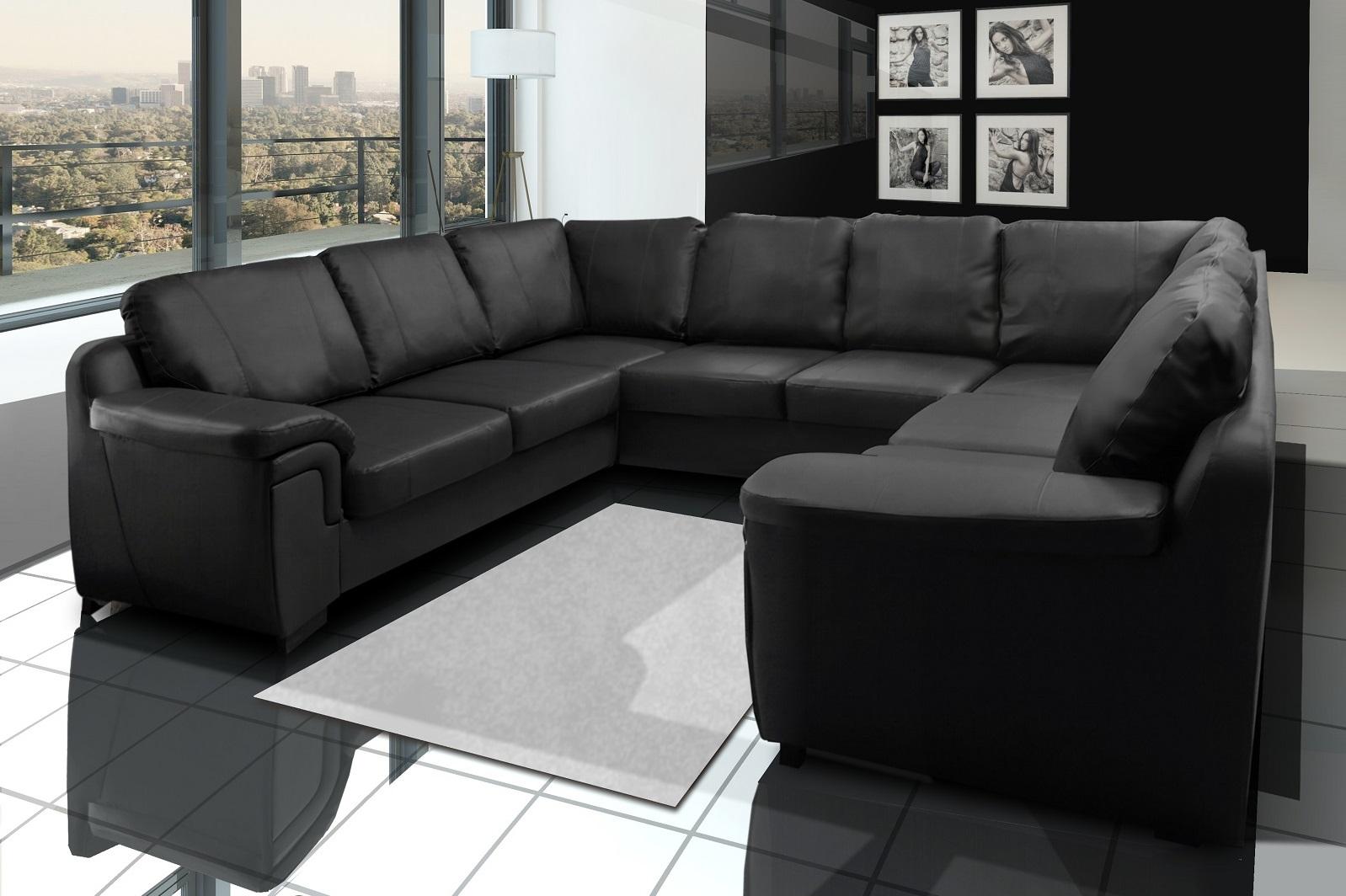 Large Amy Corner Sofa U Shape