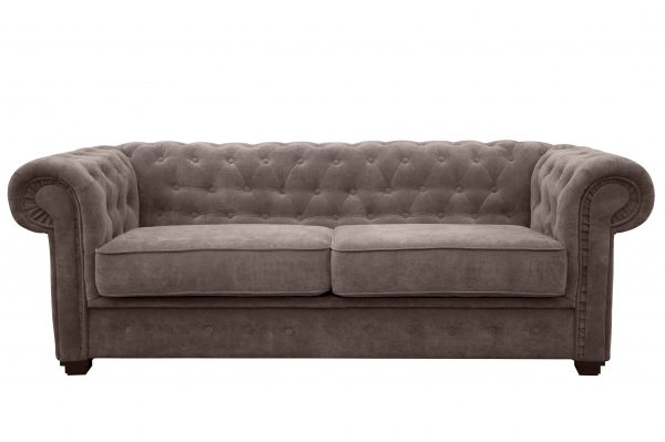 IMPERIAL 2 SEATER SOFA BED FABRIC-1280