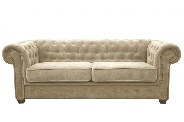IMPERIAL 2 SEATER SOFA BED FABRIC-1281