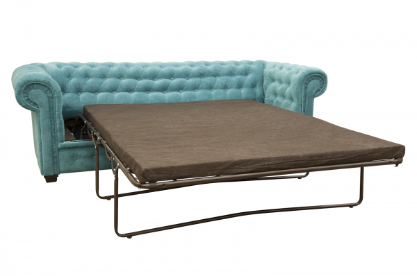 IMPERIAL 2 SEATER SOFA BED FABRIC-1271