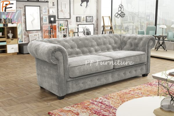 IMPERIAL 2 SEATER SOFA BED FABRIC-1294