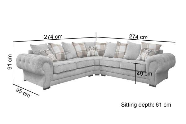 Verona Corner Sofa 2c2 Pf Furniture