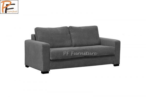 Paris Sofa Bed Fabric 3 Seater Foam Mattress-1326