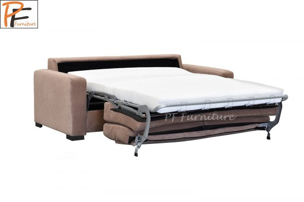 Paris Sofa Bed Fabric 3 Seater Foam Mattress-1329