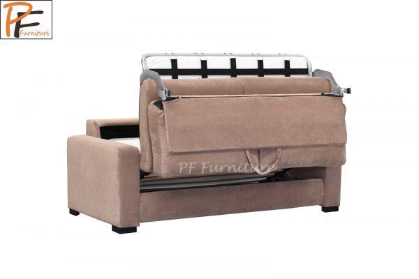Paris Sofa Bed Fabric 3 Seater Foam Mattress-1327