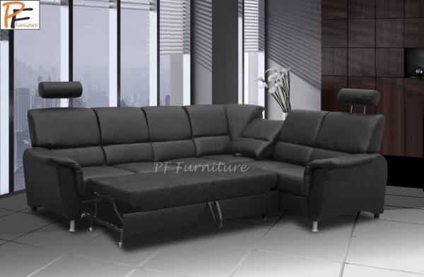 San Diego corner sofa bed-1344