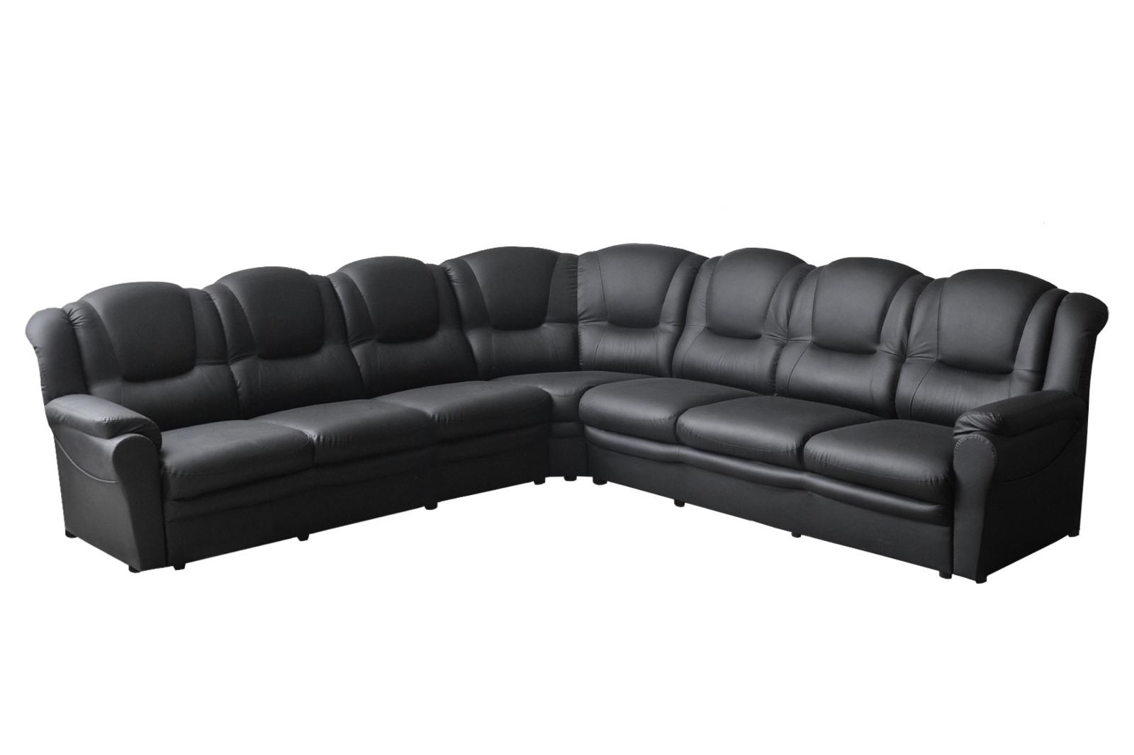 Texas Faux Leather Corner Sofa (3CR3)