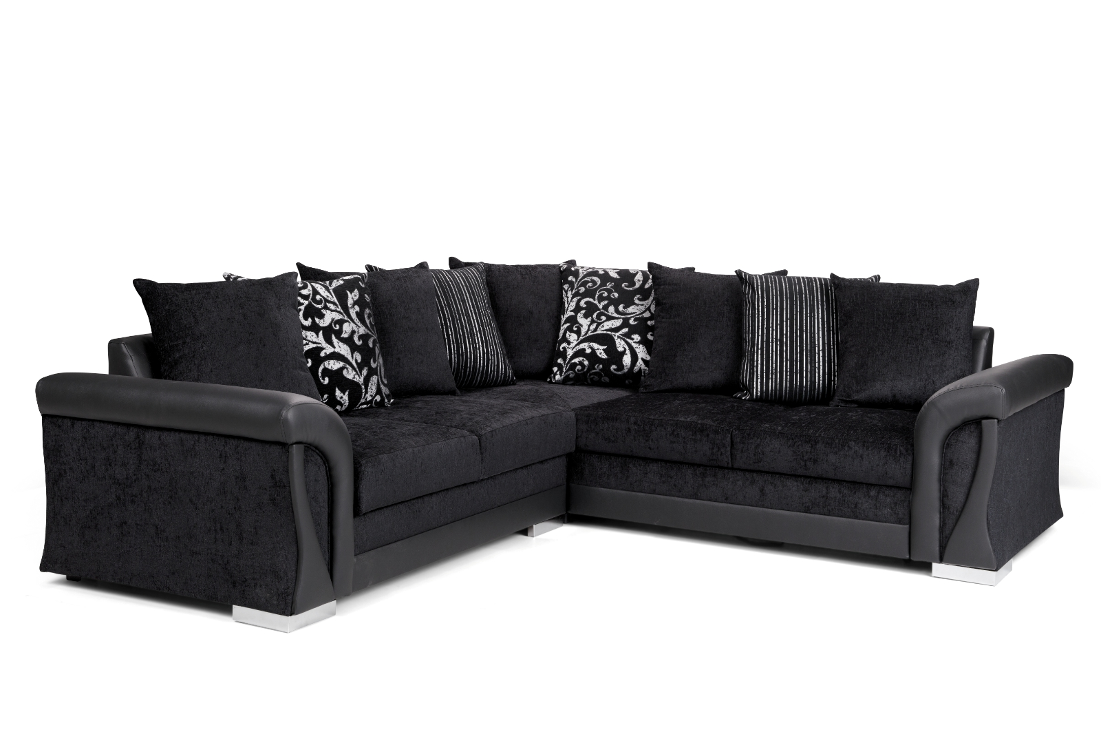 Vigo Corner Sofa Bed with Storage